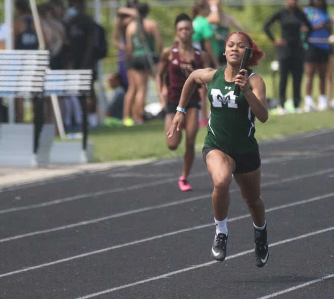 Madison's Nevaeh Lewis was voted the 2020-21 Mansfield News Journal Reader's Choice Female Athlete of the Year.