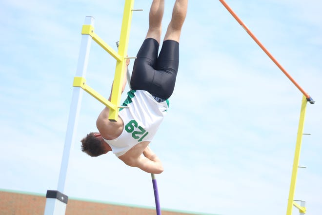 Clear Fork's Ethan Staley has been named the Mansfield News Journal Boys Field Athlete of the Year.