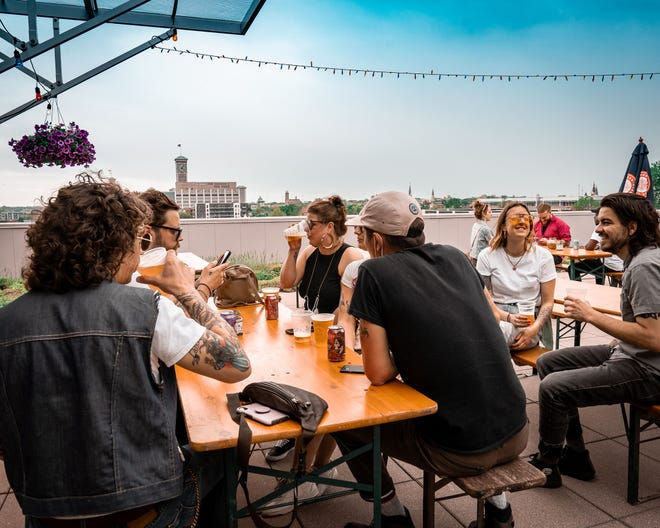 An event from 11 a.m. to 11 p.m. June 5 marks a bottle release at Indeed Brewing Co. in Walker's Point and the debut of its rooftop patio, next door atop the Clock Shadow Building. It's where the nonprofit CORE/El Centro has its herb garden and apiary, and a portion of beer sales will go to the organization.