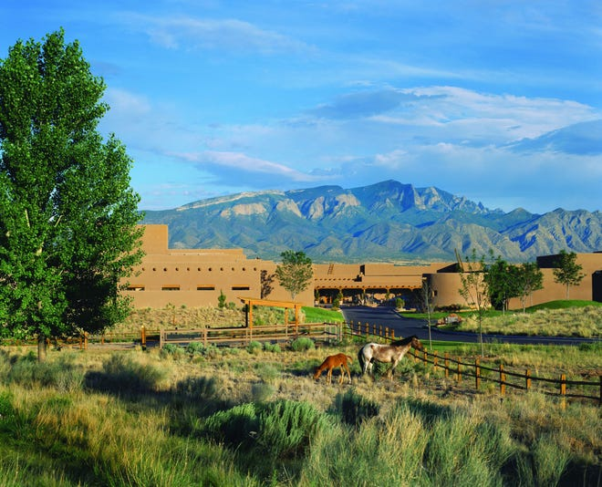 The Hyatt Regency Tamaya Resort & Spa in northern New Mexico will serve as the backdrop for the 17th season of ABC's The Bachelorette, airing June 7, 2021.