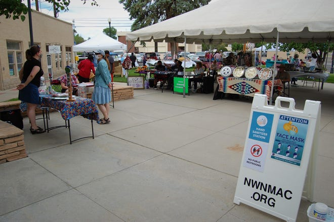 The first Makers Market of the season was held in downtown Farmington's Orchard Park on June 3, with 18 vendors selling fresh produce, artwork, jewelry, books and more.
