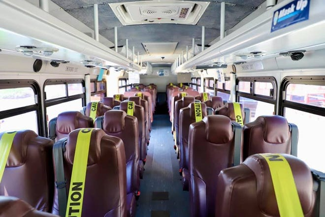 The Navajo Transit System will restart bus services on the Navajo Nation in accordance to COVID-19 protocols for public transportation.