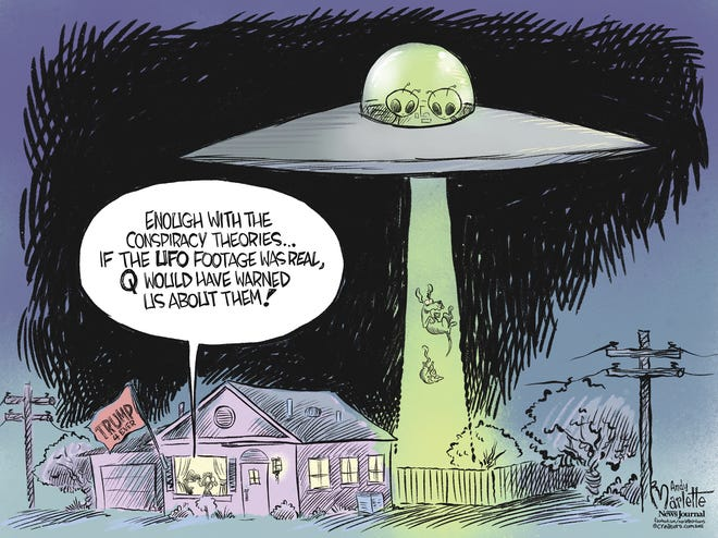 Marlette cartoon: The truth is out there?