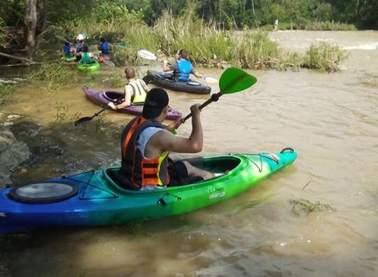 Kayakers can now access the Sandusky River via the Haunted Hydro via Ghoul Runnings.
