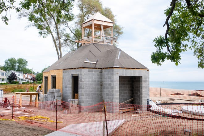 The new facilities at Lighthouse Park were planned to be done this month, but material delays have pushed completion until next month. It is not expected to impact beachgoers.