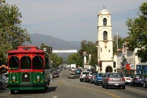 Ojai will start running a trolley downtown on Saturdays, starting July 3.