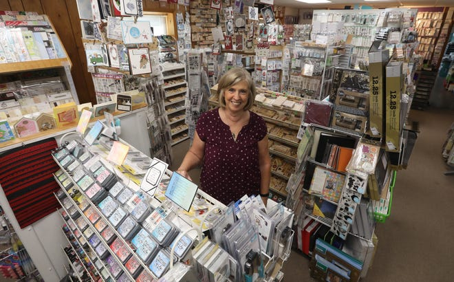 Christy Applegate owns Christy's Main Street Memories, a scrapbooking store in New Concord. The stores is taking part in the Ohio Paper Crafting Shop Hop, starting on July 1.