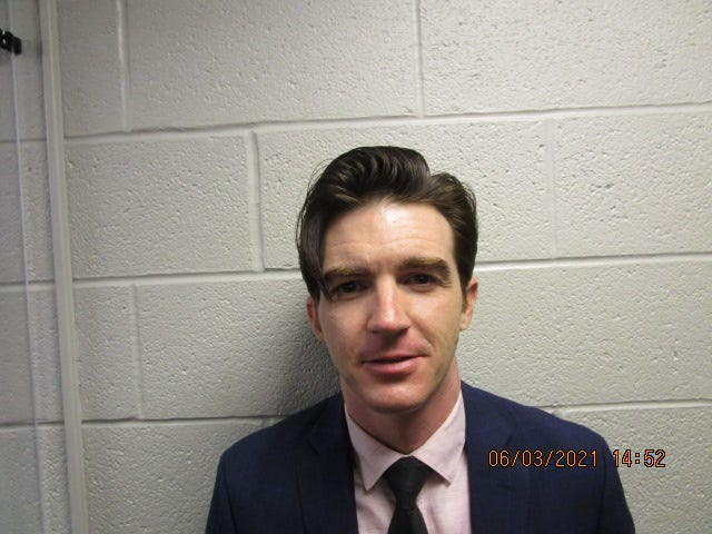 Drake Bell has been indicted on two charges involving minors.
