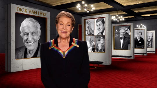 Julie Andrews pays tribute to her colleague