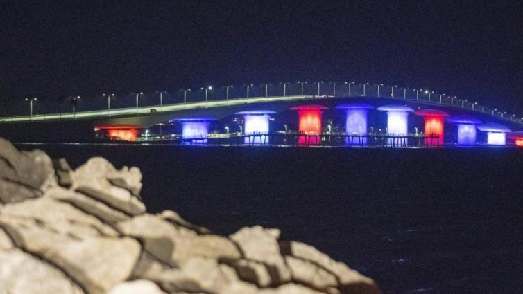 DeSantis said no 'messaging' in rainbow bridge lighting denial