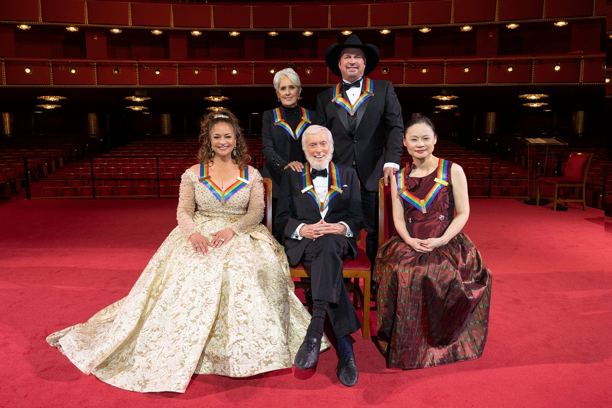 Kennedy Center Honors: An emotional Garth Brooks, Julie Andrews  tribute to Dick Van Dyke, more