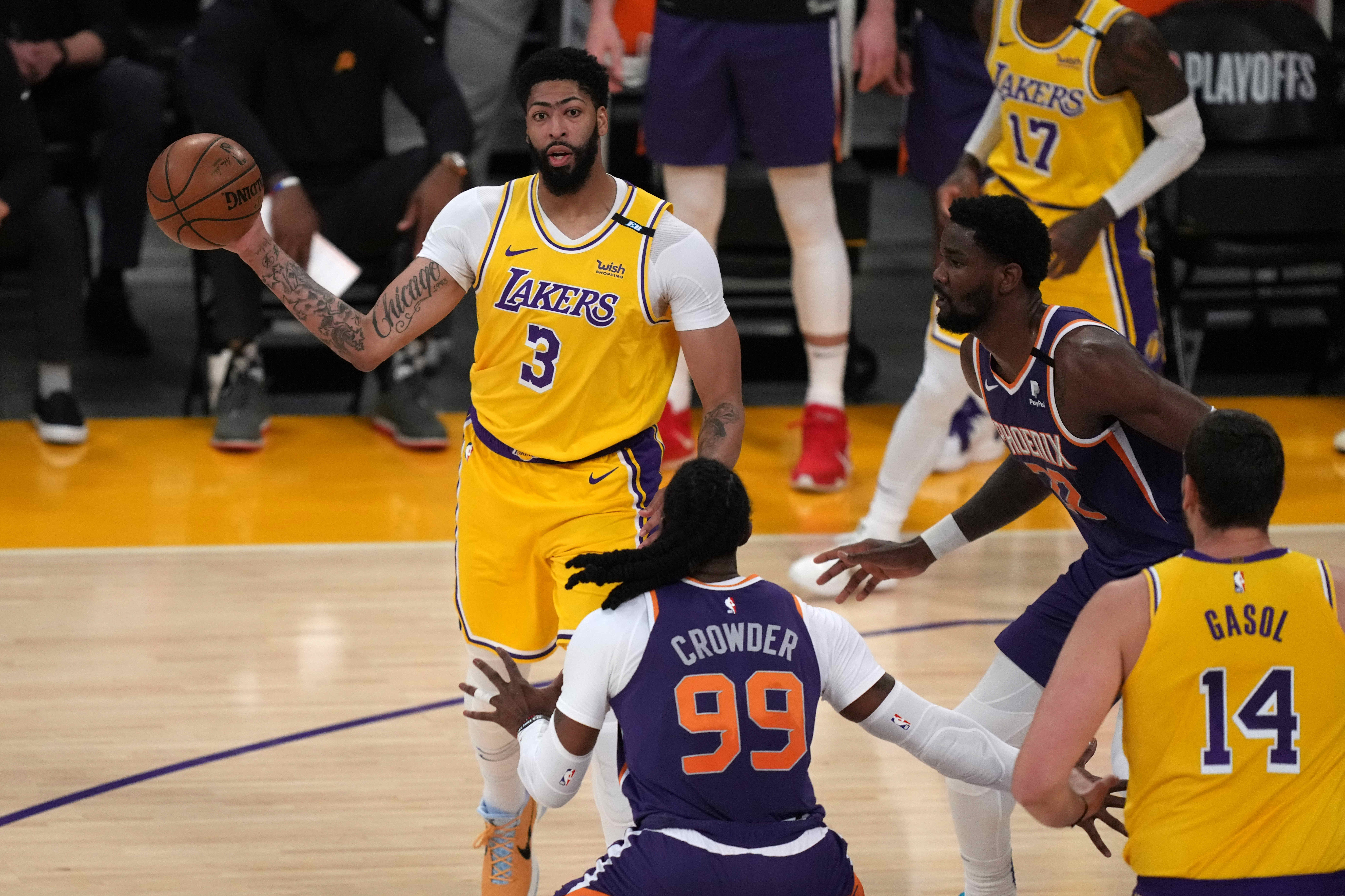 OPINION: Lakers' Anthony Davis on injury tag: 'I don't have to prove nothing to anyone'