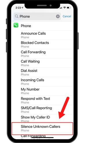 Not ready to subscribe to a service to filter out unwanted robocallers? If you have an iPhone, you can change your settings to block everyone except people in your contacts list, numbers you've called and ones Siri recognizes from your emails and texts.