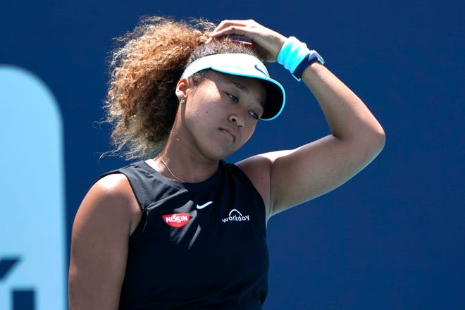 Tennis star Naomi Osaka has said she experiences anxiety before speaking to the media and that she has suffered bouts of depression.