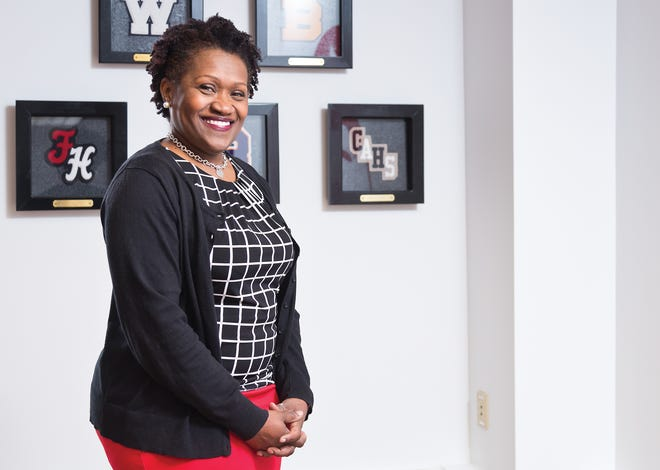 Dionne Blue joined Columbus City Schools as the district's first chief equity officer in August 2020.