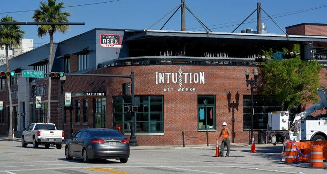 Beginning Tuesday, Intuition Ale Works' taproom will offer a new lager, Outeast, which will benefit the craft brewer's Eastside neighborhood.