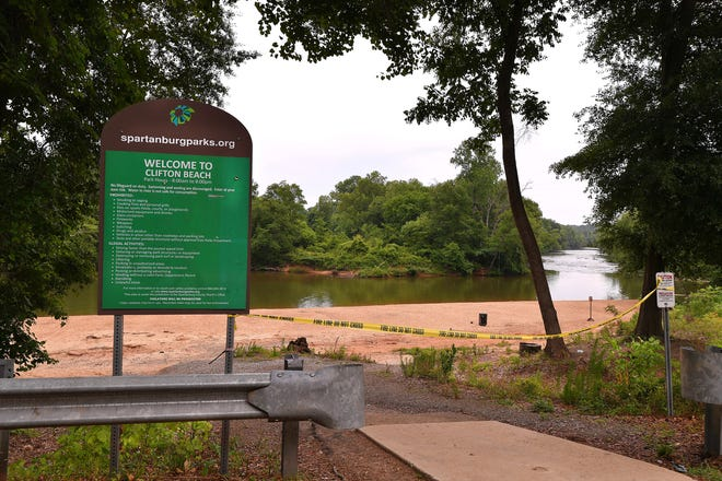 Spartanburg County 911 dispatched a drowning call just before 12:30 p.m. Saturday to the Clifton Beach area located on Goldmine Road.