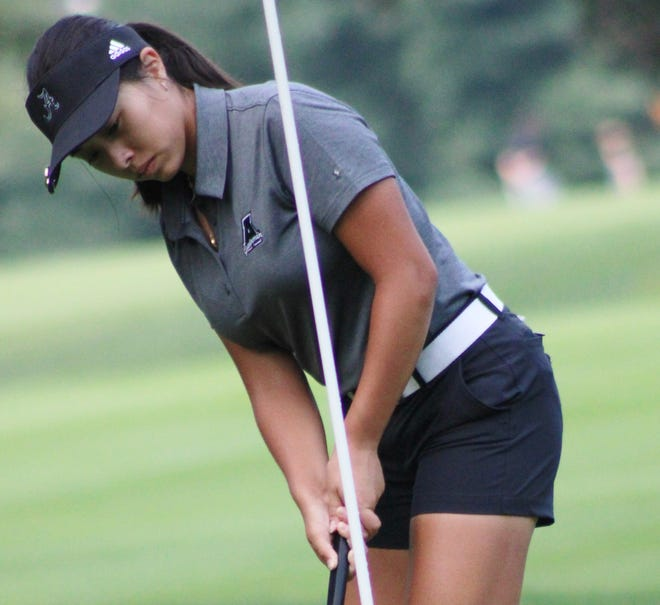 Brooklyn Millard of Aurora was runner-up in the Northern Ohio PGA's Lake Forest Country Club qualifier in Hudson.