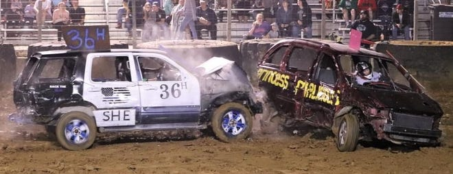 The Spring demo derby at the Owen County Fairgrounds delivered all the spills, chills and thrills the community craved. More from the derby is featured inside today's Spencer Evening World.