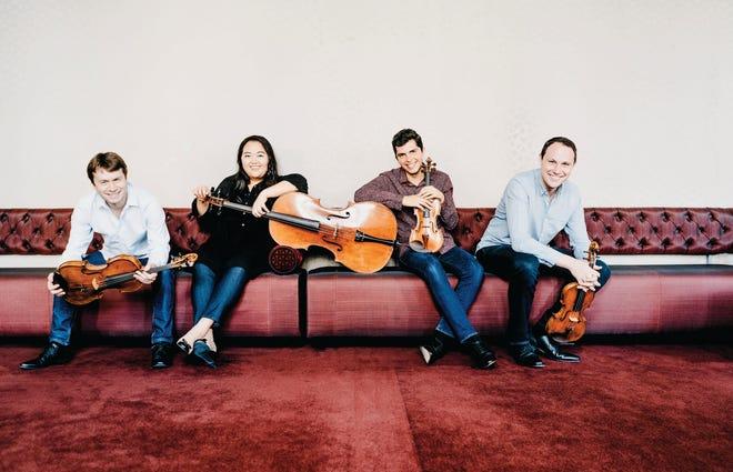 The Calidore String Quartet closes the abbreviated 2021 Sarasota Music Festival.