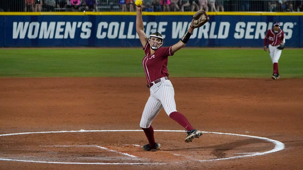 What changed for Alabama softball pitcher Montana Fouts in season-ending WCWS loss to Florida State