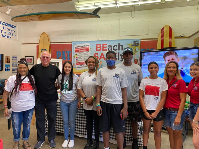 The Je'Sani Foundation announced Saturday a partnership with the Texas Surf Museum in an effort toeducate Nueces County residents and visitors about beach safety this summer.