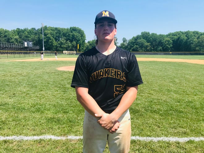 Moorestown's Joey Morrissey threw a no-hitter as the Quakers blanked Timber Creek 5-0 in the South Jersey Group 3 quarterfinals on Saturday.