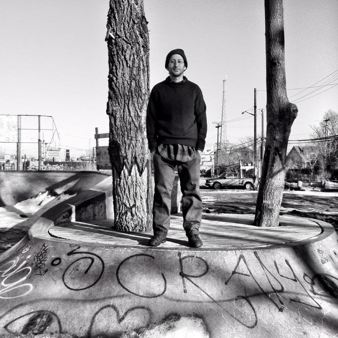 Danny Fenster at Ride It Sculpture Park in Detroit in 2013. The journalist is currently detained in Myanmar.