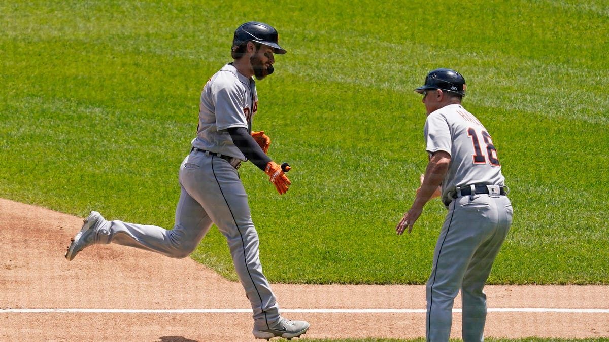 Another two-homer game for Haase helps Tigers edge White Sox 2