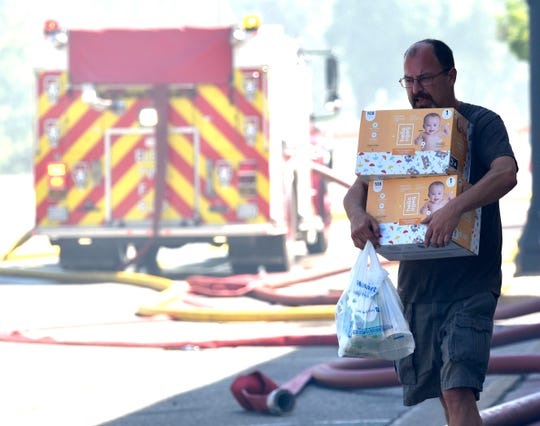 When Flanagan pub owner Aaron Corneail heard that a mother and one-month-old daughter had been displaced by the fire, he purchased two boxes of diapers and delivered them to the couple.