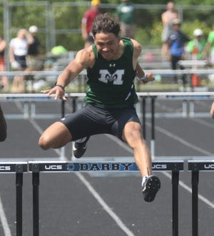 Madison's Isaac Brooks was named to the All-Mansfield News Journal Boys Track and Field first team.