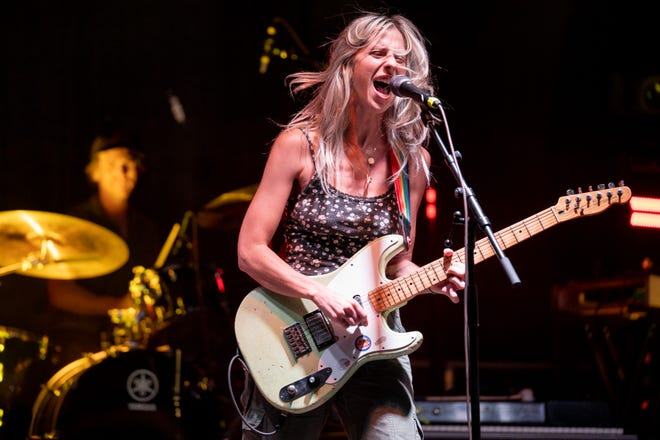 BULLY performs during the Outloud Music Festival in Nashville, Tenn., Friday, June 4, 2021.