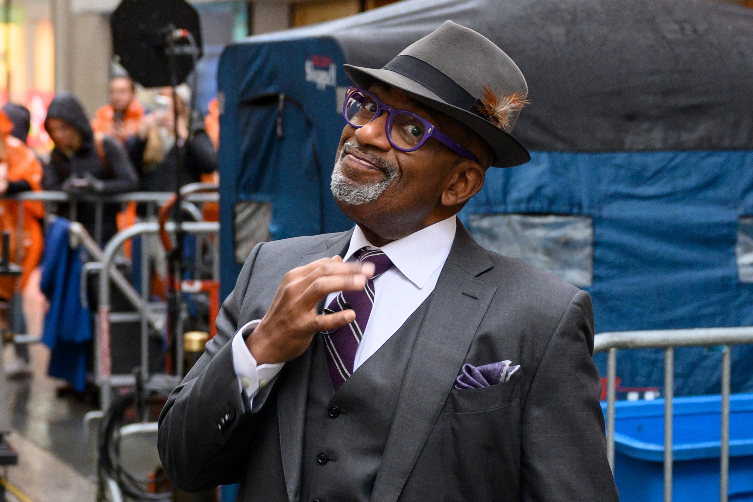 A perfect magical evening :  Today  show s Al Roker celebrates wedding of daughter Courtney