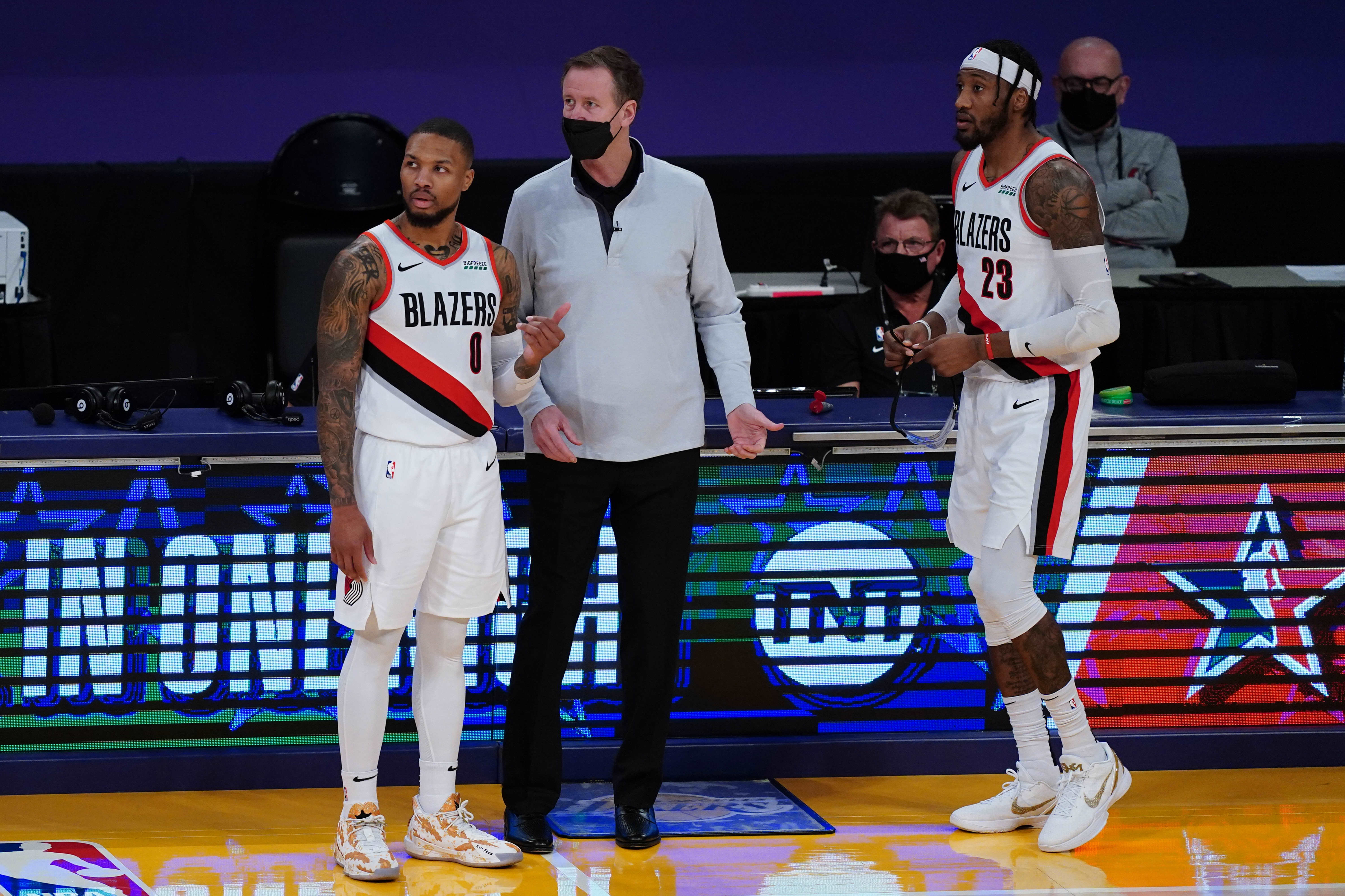 Portland Trail Blazers part ways with coach Terry Stotts after nine seasons