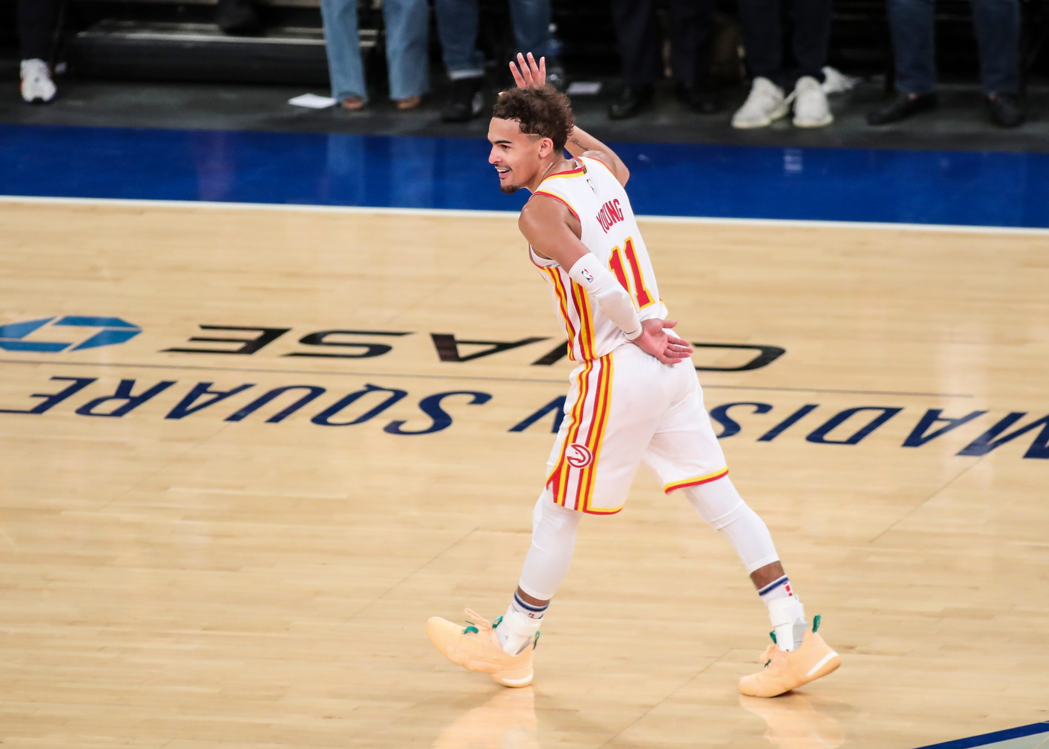 Opinion: Led in NBA playoffs by budding star Trae Young, the upstart Atlanta Hawks are here to stay