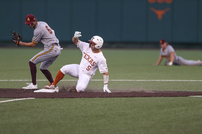 Texas outfielder Mike Antico, who led the nation in walks and had 40 stolen bases, may be the best baseball transfer in Longhorns history. He helped spark UT's run to the College World Series this season.