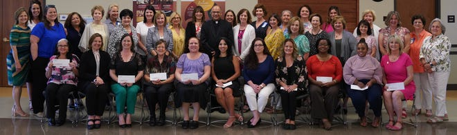 Members of the Mother Teresa Women's Giving Circle award 10 local nonprofits with a combined $93,000 in grants.