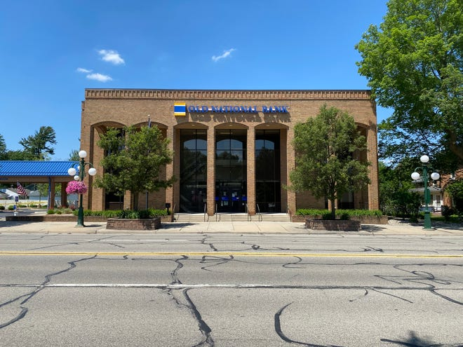Old National Bank will have a grand reopening ceremony June 15 to show off renovations to its banking center at 205 E. Chicago Blvd. in Tecumseh, pictured Sunday.