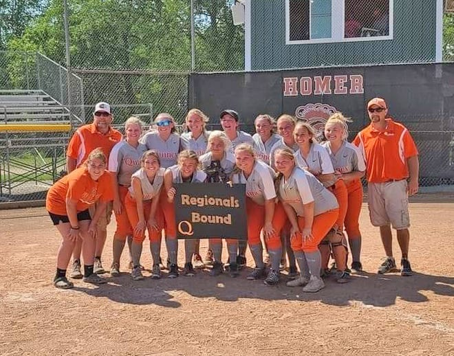 The Quincy Orioles claimed their second straight D3 District Softball Championship on Saturday, winning in dramatic walk-off fashion over Jonesville in the title game