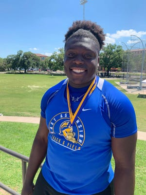 East Ascension's Jerrell Boykins, Jr. was named one of the All-Metro team's Outstanding Field Performers.