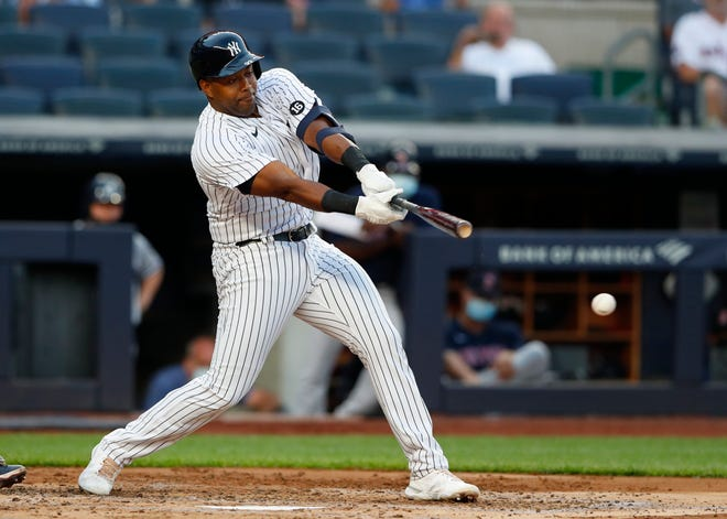 Sherman native Chris Gittens made his major-league debut on Saturday night, playing first base for the New York Yankees. The former Bearcat and Grayson College Vikings was called up after eight years in the minors.
