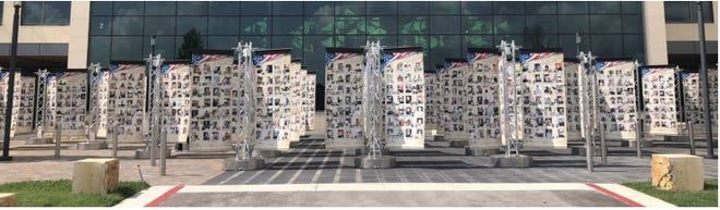 """On June 24-27, Northfield VFW Post 6768 will be hosting """"Remembering Our Fallen,"""" a traveling memorial dedicated to all those who have died since September 11, 2001 and the inception of the War on Terror."""