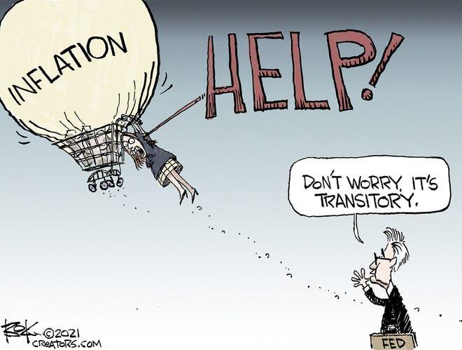 Today's editorial cartoon (June 7, 2021)