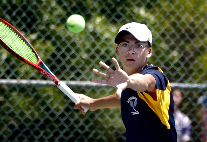 James Bogdanovic is a boys tennis singles finalist..