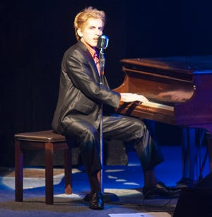 """Jason Cohen stars as Jerry Lee Lewis in the cabaret show he co-created, """"Great Balls of Fire."""""""