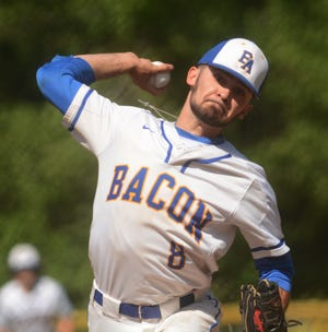 Bacon Academy senior Colton Vasseur led the Bobcats to the Class M quarterfinals this spring.
