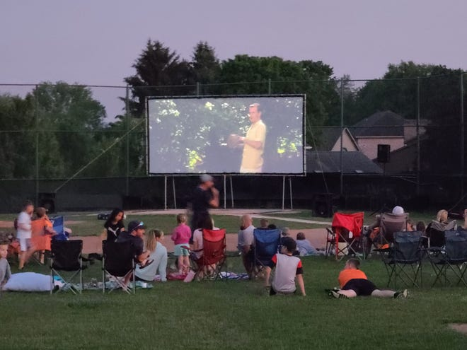 """Films on the Town is a community partnership between the Mary S. Biesecker Public Library, Laurel Arts and Somerset Inc. to provide a regular series of free movies in and around Somerset Borough. Saturday's feature was """"The Sandlot"""" at Gibbs Stadium. The next movie is to be """"Selma"""" (PG, 2014), at 9 p.m. June 18, at the Laurel Arts Lawn Stage, 214 Harrison Ave., Somerset. The project is funded in part by the Community Foundation for the Alleghenies."""