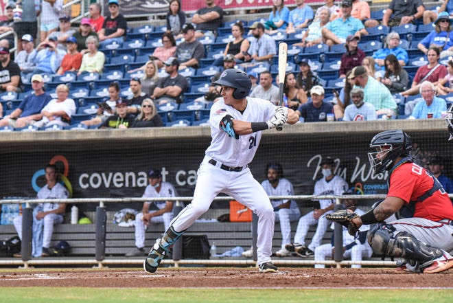 Blue Wahoos outfielder JJ Bleday hit a 2-run homer for the decisive runs in 4-1 victory Saturday against Mississippi Braves.