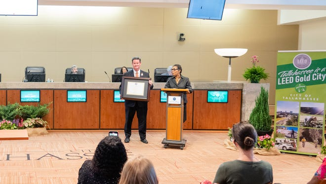ON  June 2, the City of Tallahassee earned recognition as a Gold level LEED-certified City by the U.S. Green Building Council (USGBC).