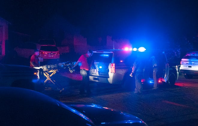 Wichita Falls Police investigated the scene of a shooting Sunday morning on Sherman Road.